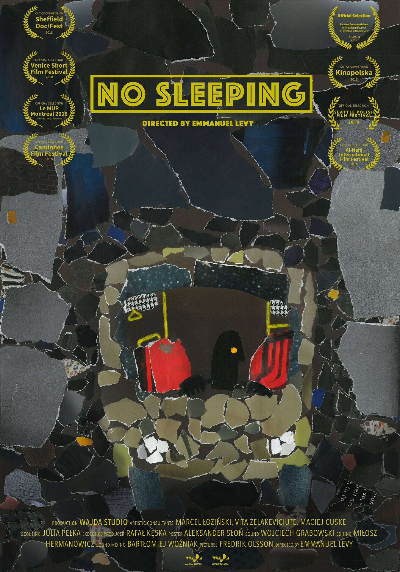Poster No Sleeping 300dpi