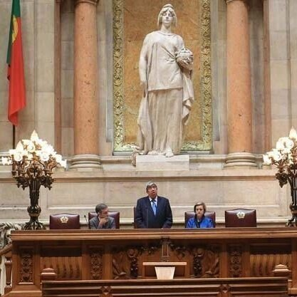 Sua Excelência o Presidente da Assembleia da República