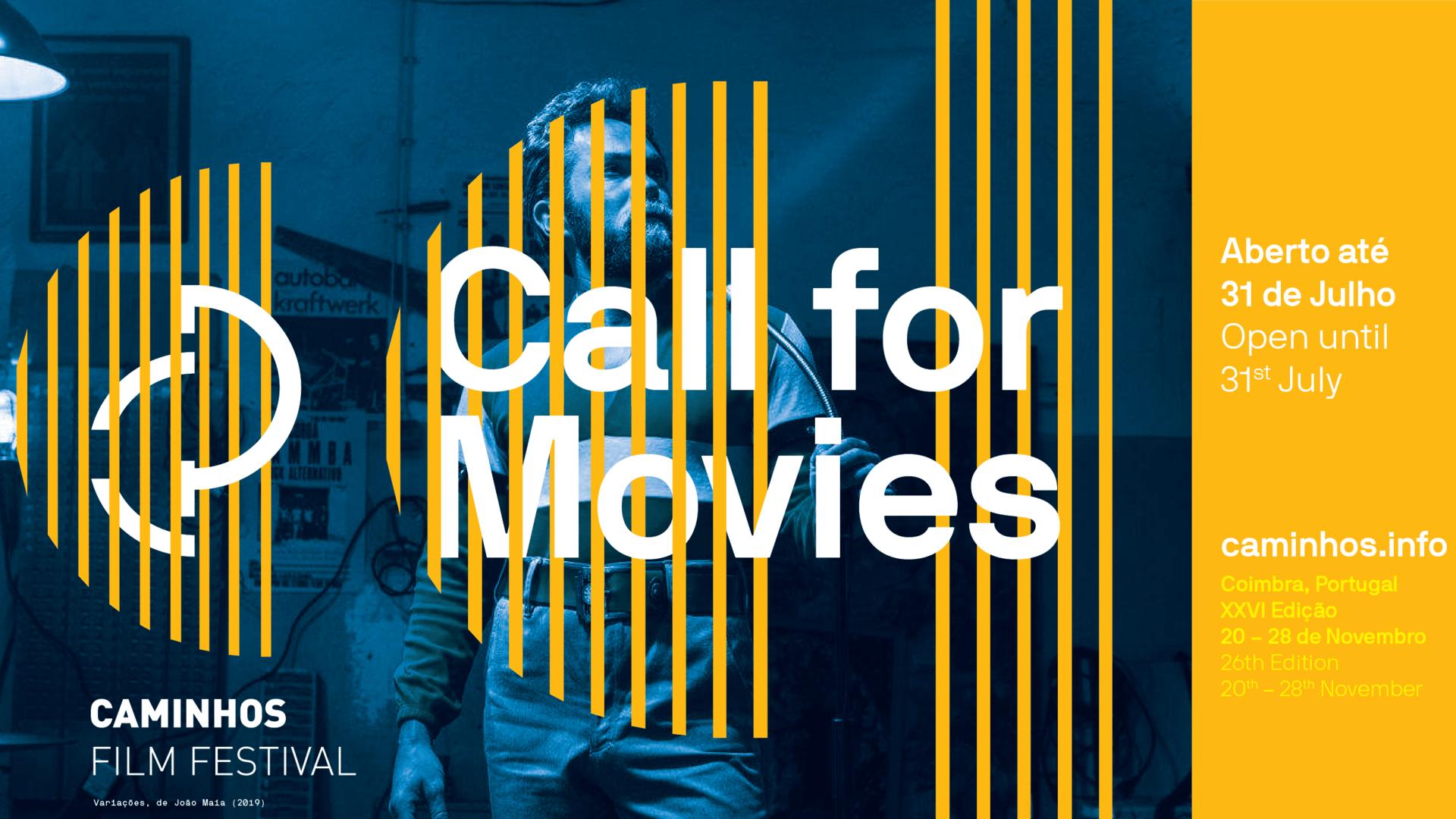 Call for Movies ·Caminhos do Cinema Português ★ 26.ª edição