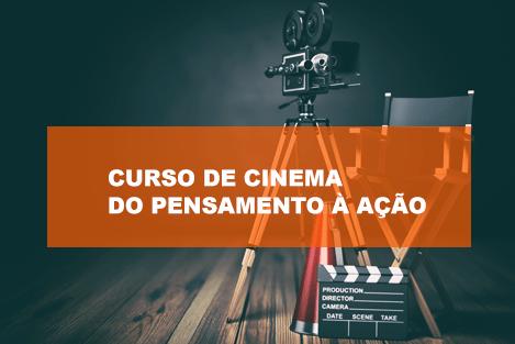 Curso de Cinema - inscrições até 15 de novembro
