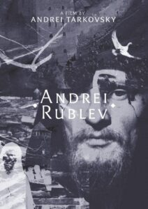 "Poster for the movie ""Andrei Rublev"""